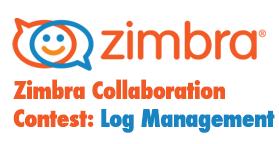 Zimbra Log management contest